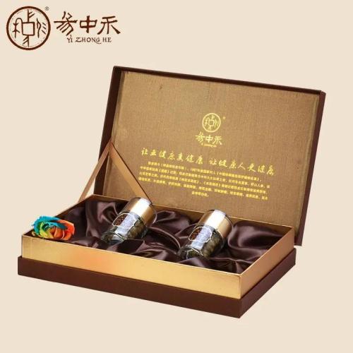 易中禾铁皮枫斗 有机高山铁皮枫斗25g/瓶*2瓶 皮盒包装